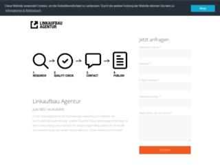 linkaufbau-agentur.eu screenshot