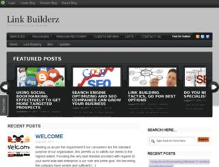 linkbuilderz.blog.com screenshot