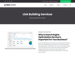 linkbuilding.agency screenshot