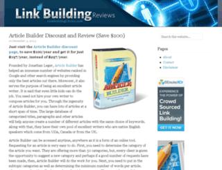 linkbuildingchoice.com screenshot