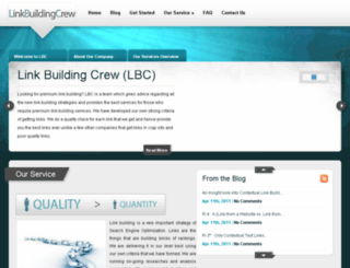 linkbuildingcrew.com screenshot