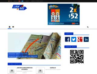 linkbyme.com.mx screenshot