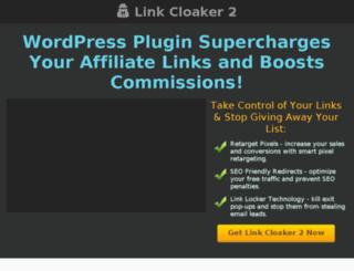 linkcloaker2.com screenshot