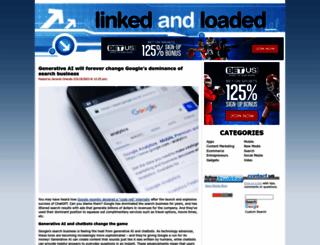 linkedandloaded.com screenshot