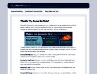 linkeddatatools.com screenshot