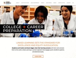linkedlearning.org screenshot