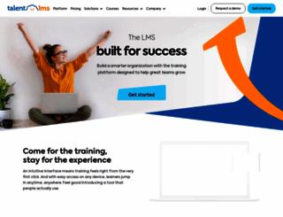 linkedselling.talentlms.com screenshot