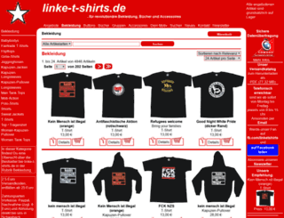 linkesbuch.de screenshot