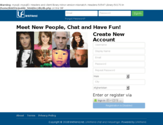 linkfriend.net screenshot