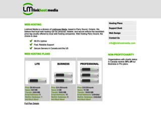linkhostmedia.com screenshot