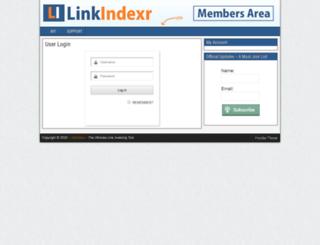 linkindexr.info screenshot