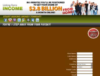 linkinghomeincome.com screenshot