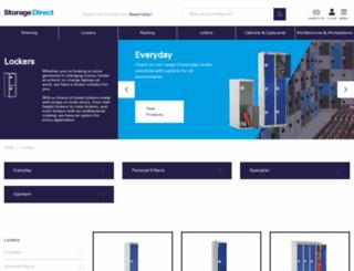 linklockers.co.uk screenshot