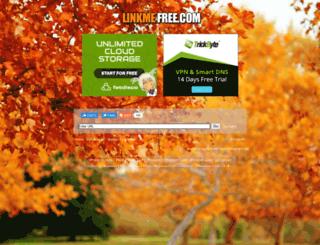 linkmefree.com screenshot