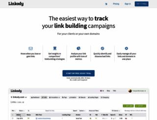 linkody.com screenshot