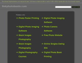 linkphotobenin.com screenshot