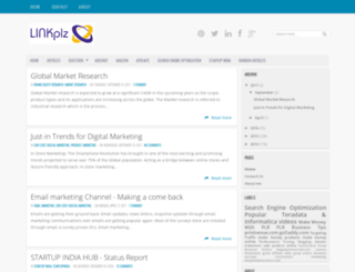 linkplz.info screenshot