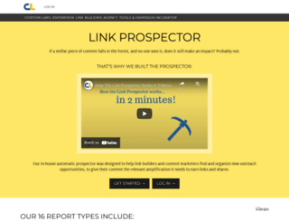 linkprospector.citationlabs.com screenshot