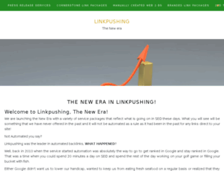 linkpushing.net screenshot