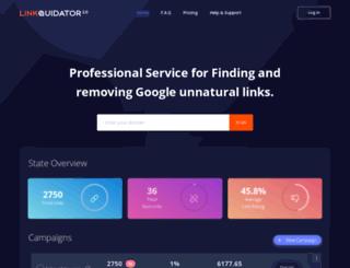 linkquidator.com screenshot