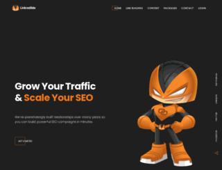 linkredible.com screenshot