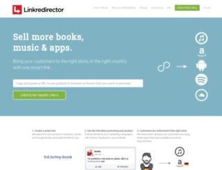 linkredirector.com screenshot