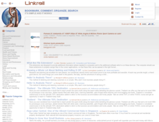linkroll.com screenshot