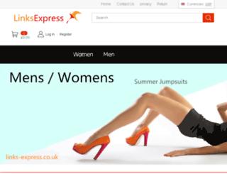 links-express.co.uk screenshot