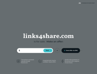 links4share.com screenshot