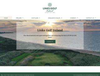 linksgolf-ireland.com screenshot