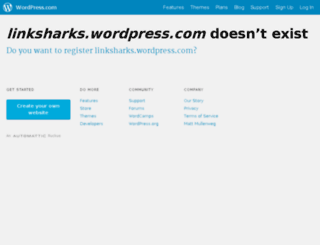 linksharks.com screenshot