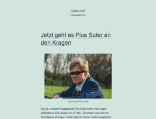 linkstop.ch screenshot