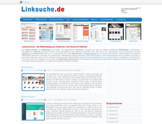 linksuche.de screenshot