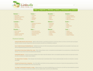 linksvilla.com screenshot