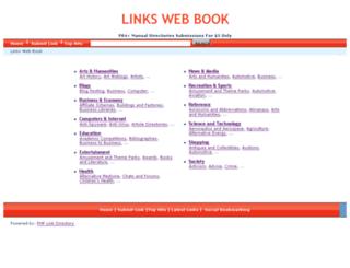 linkswebbook.com screenshot