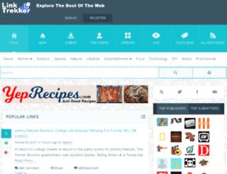 linktrekker.com screenshot