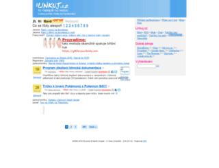 linkuj.cz screenshot