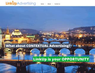 linkupadv.com screenshot