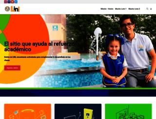 linl.lemas.edu.ec screenshot