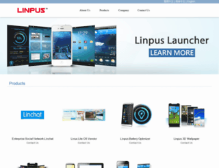 linpus.com screenshot