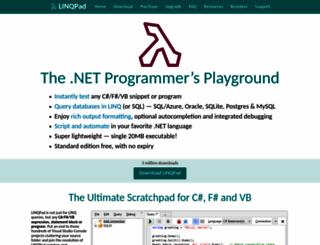 linqpad.net screenshot