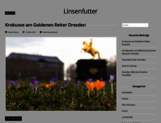 linsenfutter.de screenshot