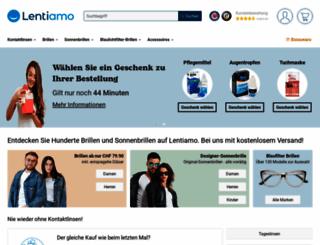 linsenswiss.ch screenshot