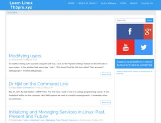 linux-st.blogspot.com screenshot