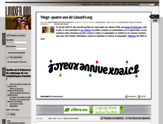 linuxfr.org screenshot