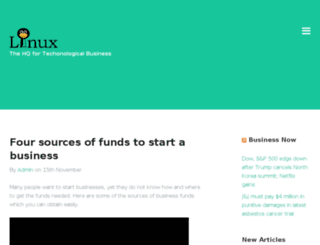 linuxheadquarters.com screenshot