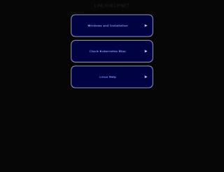 linuxhelp.net screenshot
