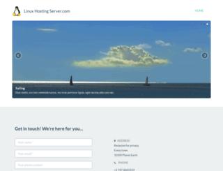 linuxhostingserver.com screenshot