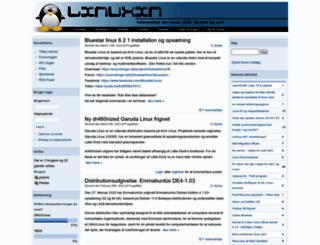 linuxin.dk screenshot