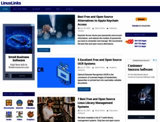 linuxlinks.com screenshot